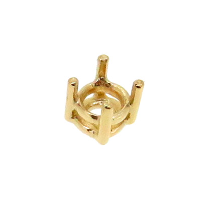 4 Prong Mounting For 0.1ct