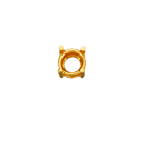 4 Prong Mounting For 0.3ct