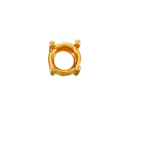 4 Prong Mounting For 0.5ct